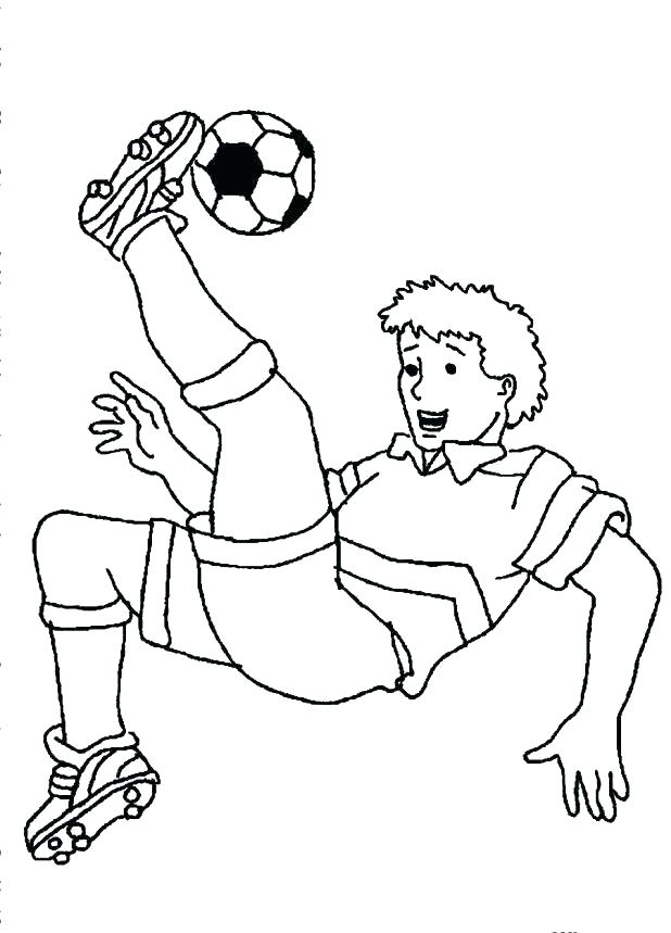 618x859 Soccer Coloring Pages Printable