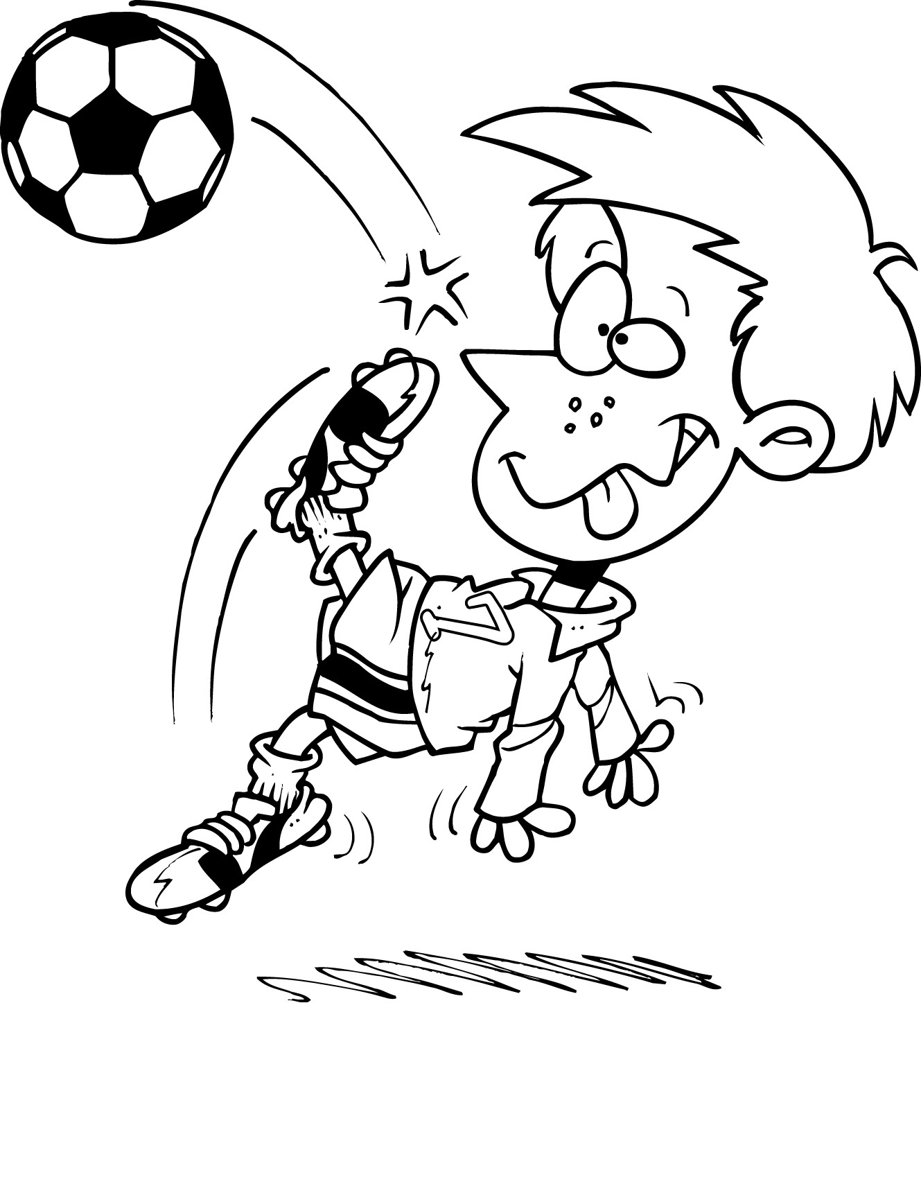 1329x1724 Free Printable Soccer Coloring Pages For Kids