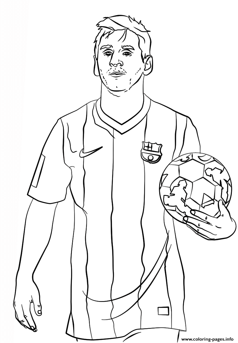 824x1186 Lionel Messi Soccer Coloring Pages Printable