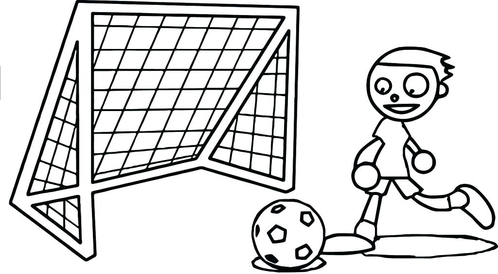 1024x565 Football Field Coloring Page Coloring Page Coloring Pages Soccer