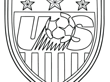 440x330 Soccer Field Coloring Page Kids Coloring Soccer Coloring Pages
