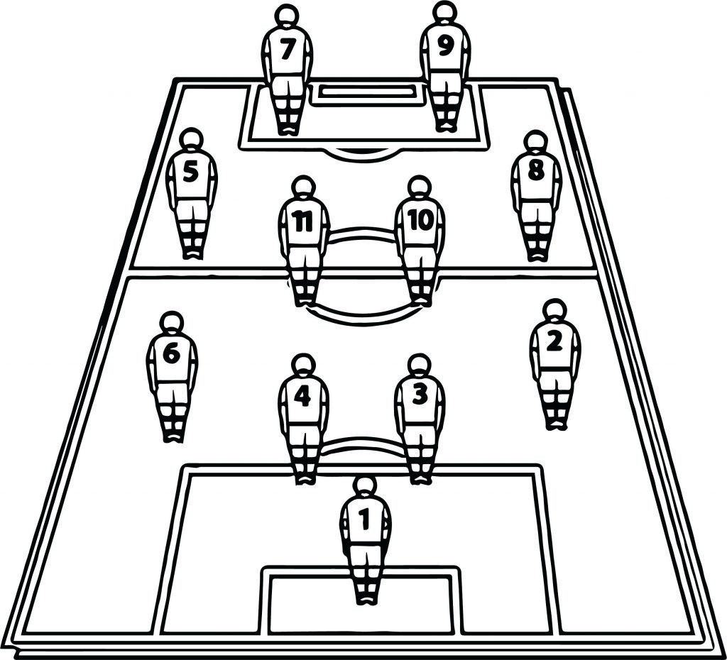 1024x930 Coloring Page Pages Soccer Good Football Player About Pleasing