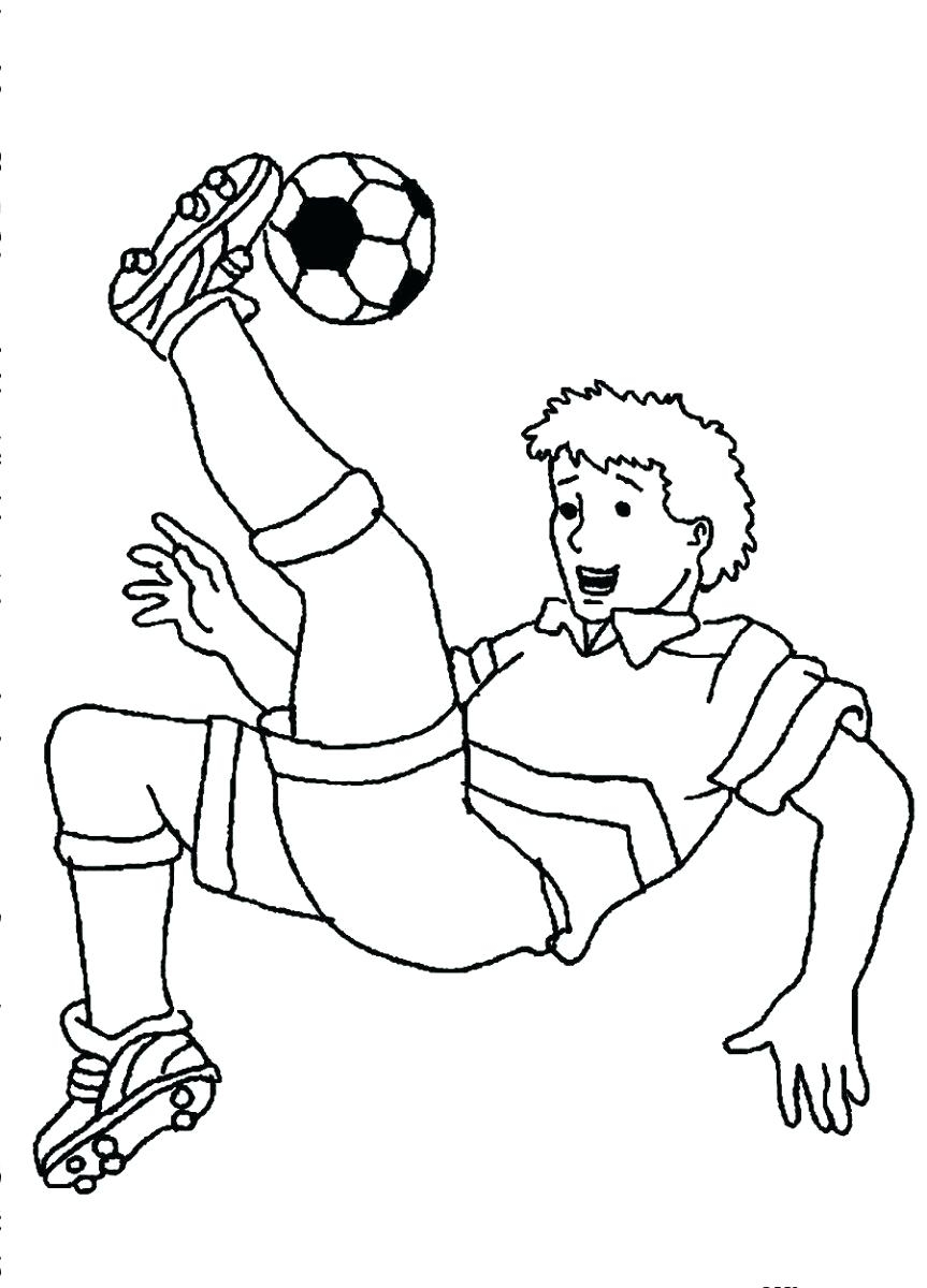 863x1200 Girls Soccer Colouring Page Bookmarks Adorable Girl