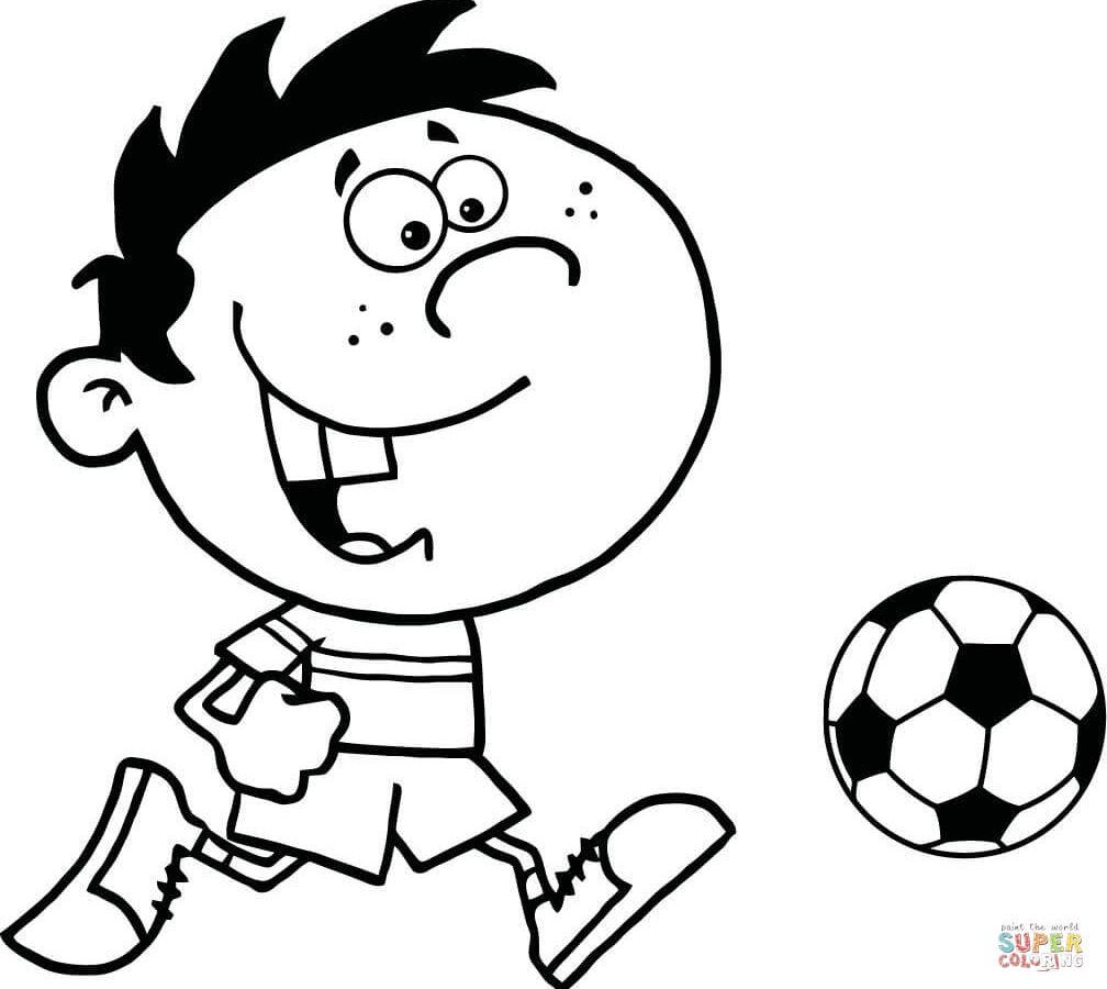 1008x900 Soccer Coloring Pages Unique Colouring General Ball Logos Player