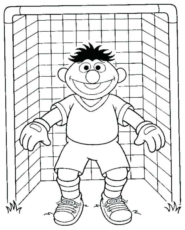 600x747 Soccer Coloring Sheets