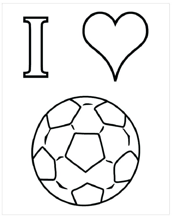 600x755 Coloring Pages Of Soccer Soccer Coloring Page Soccer Coloring
