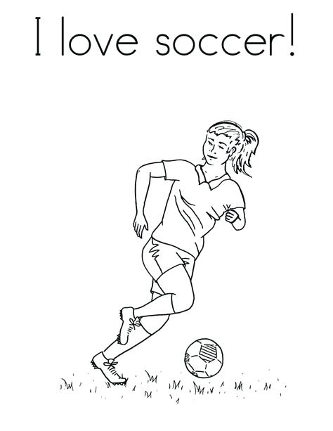 474x613 Coloring Pages Soccer Player Soccer Girl Player Coloring Pages