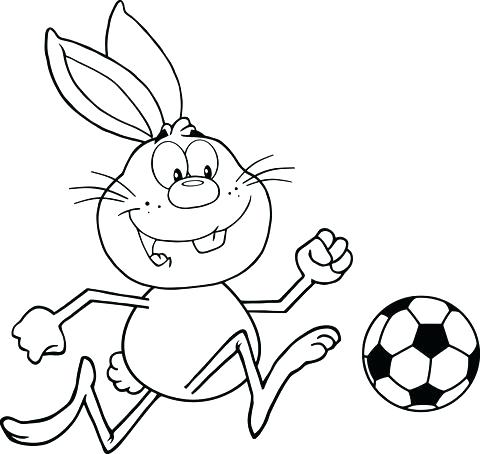 480x454 Messi Vs Ronaldo Coloring Pages Soccer Coloring Pages Cute Rabbit