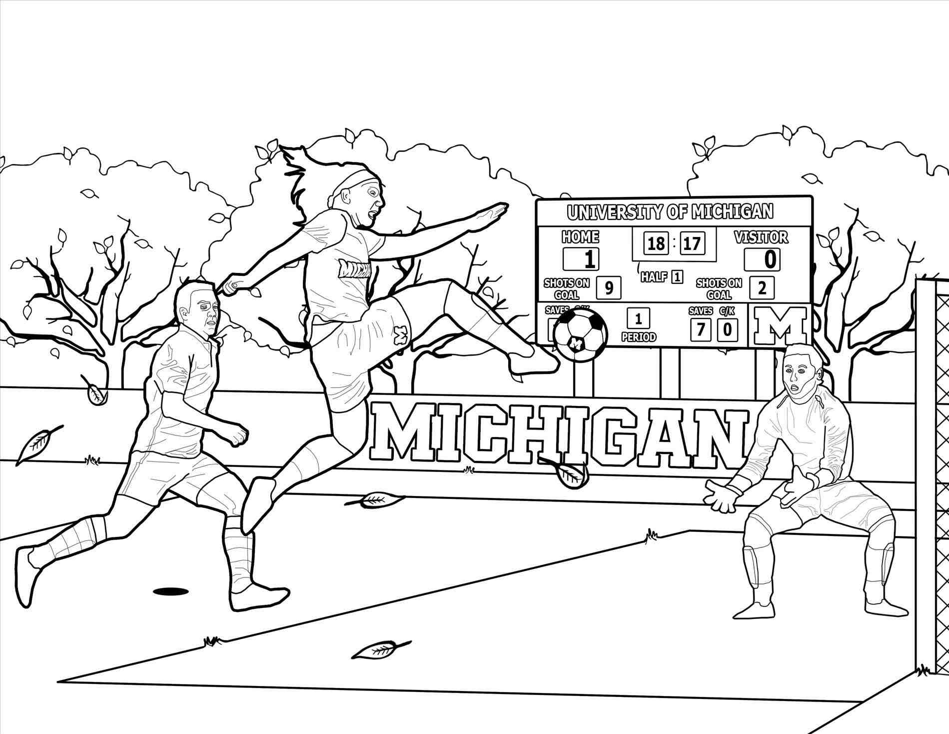 1899x1468 Soccer Goal Coloring Pages Web Coloring Pages