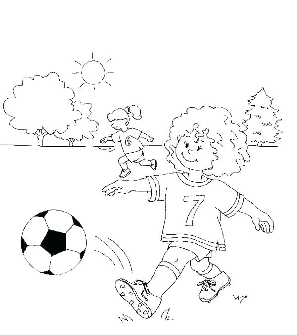 600x678 Soccer Coloring Sheet Soccer Coloring Sheets Printable New Pages