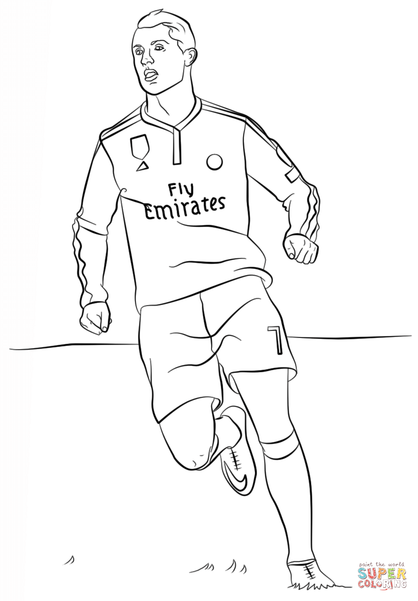 824x1186 Soccer Jersey Coloring Pages