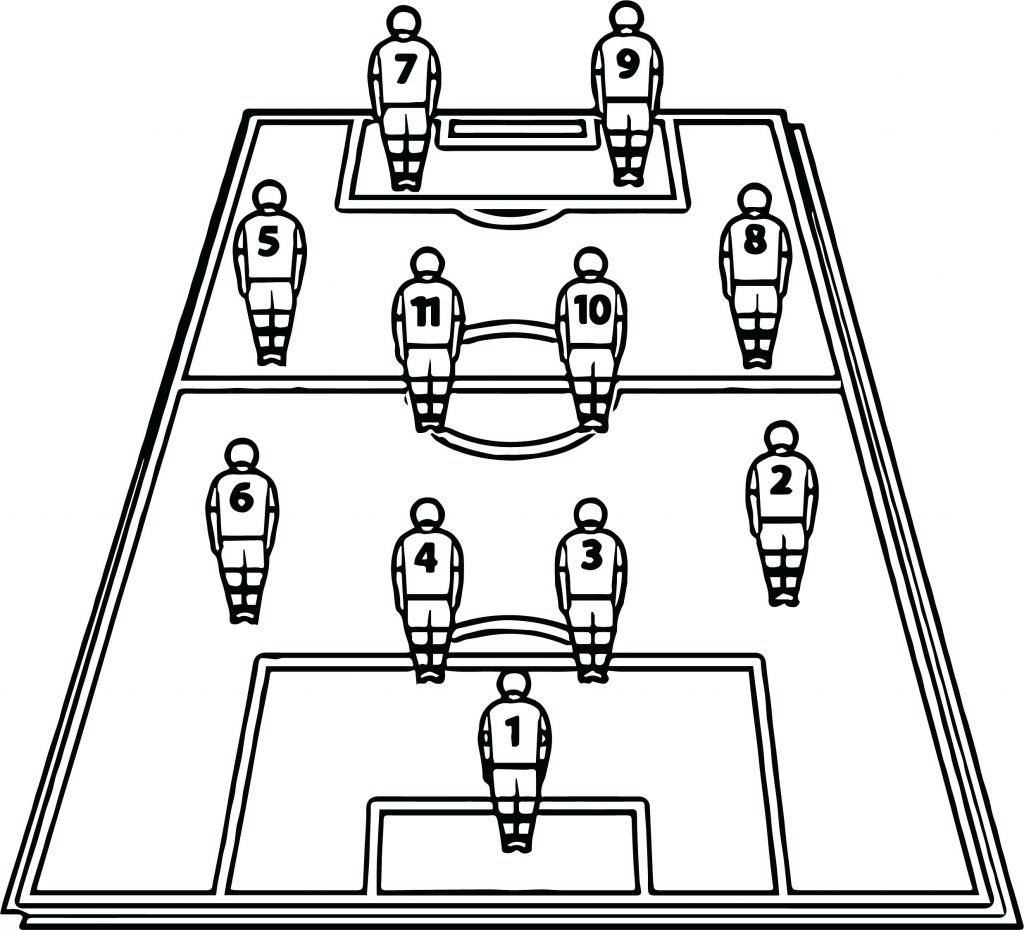 1024x930 Coloring Page Coloring Pages Soccer Running Football Player