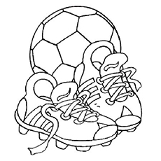 230x230 Free Printable Soccer Coloring Pages For Kids