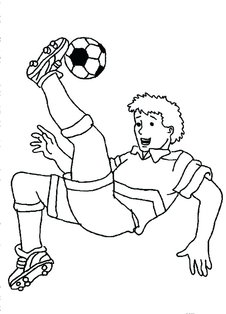 737x1024 Printable Soccer Coloring Pages Soccer Players Coloring Pages Free