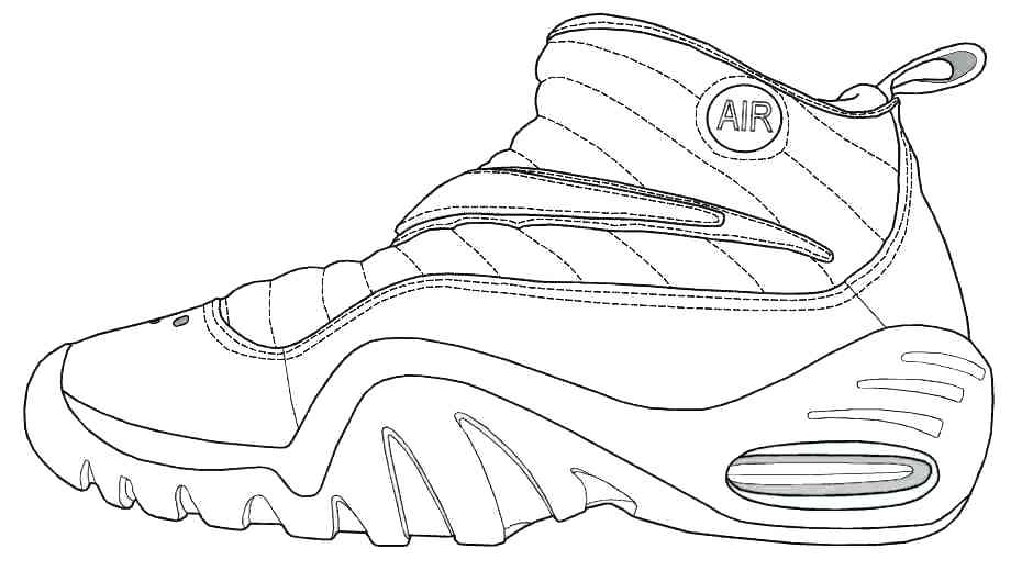 930x530 Shoes Coloring Pages Shoes Coloring Pages Shoe Coloring Pages