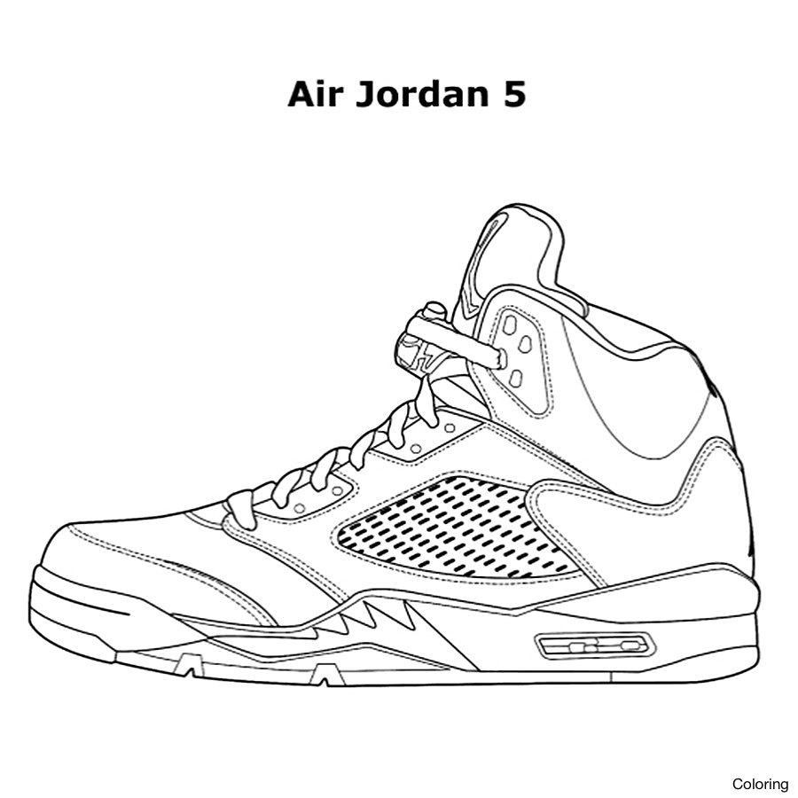900x900 Unusual Nike Shoes Coloring Pages Sneakers Dra