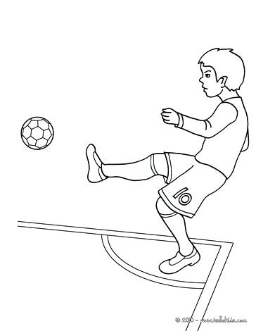 364x470 Soccer Coloring Pages Soccer Player Scoring A Free Kick Soccer