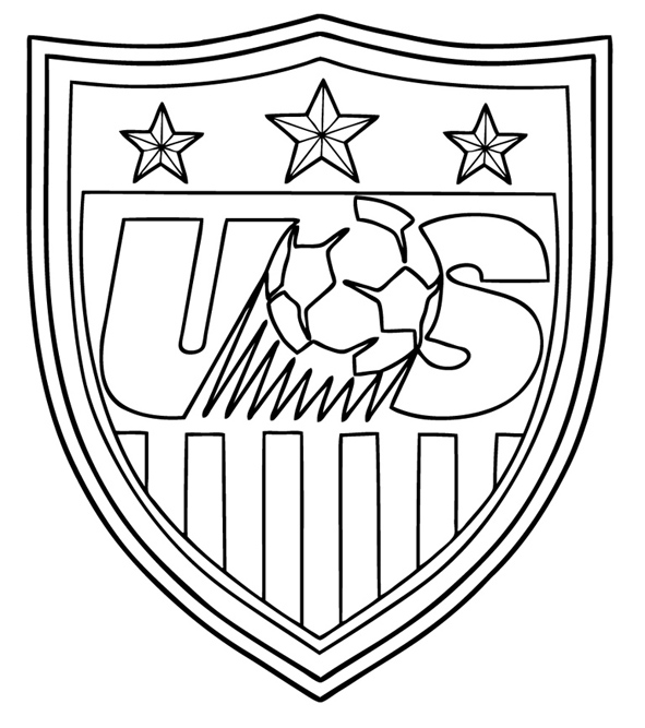 591x667 Usa Soccer Coloring Pages