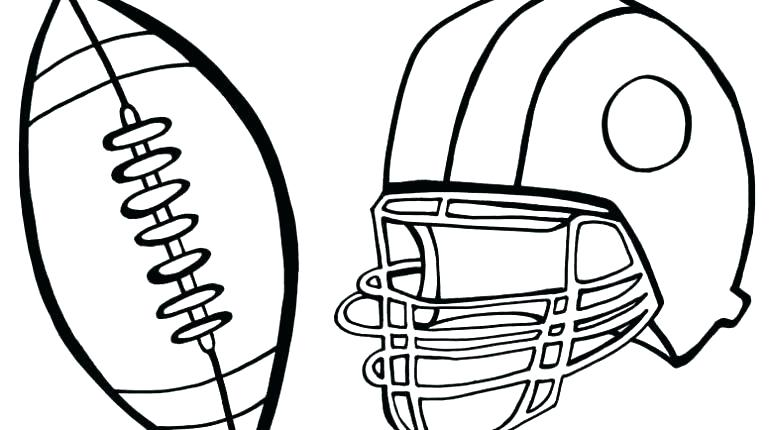 770x430 Coloring Pages Football
