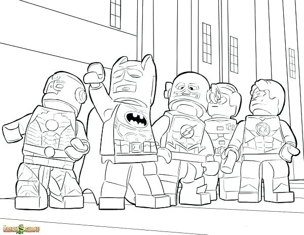 600x464 Justice League Coloring Pages Plus Justice League Coloring Pages