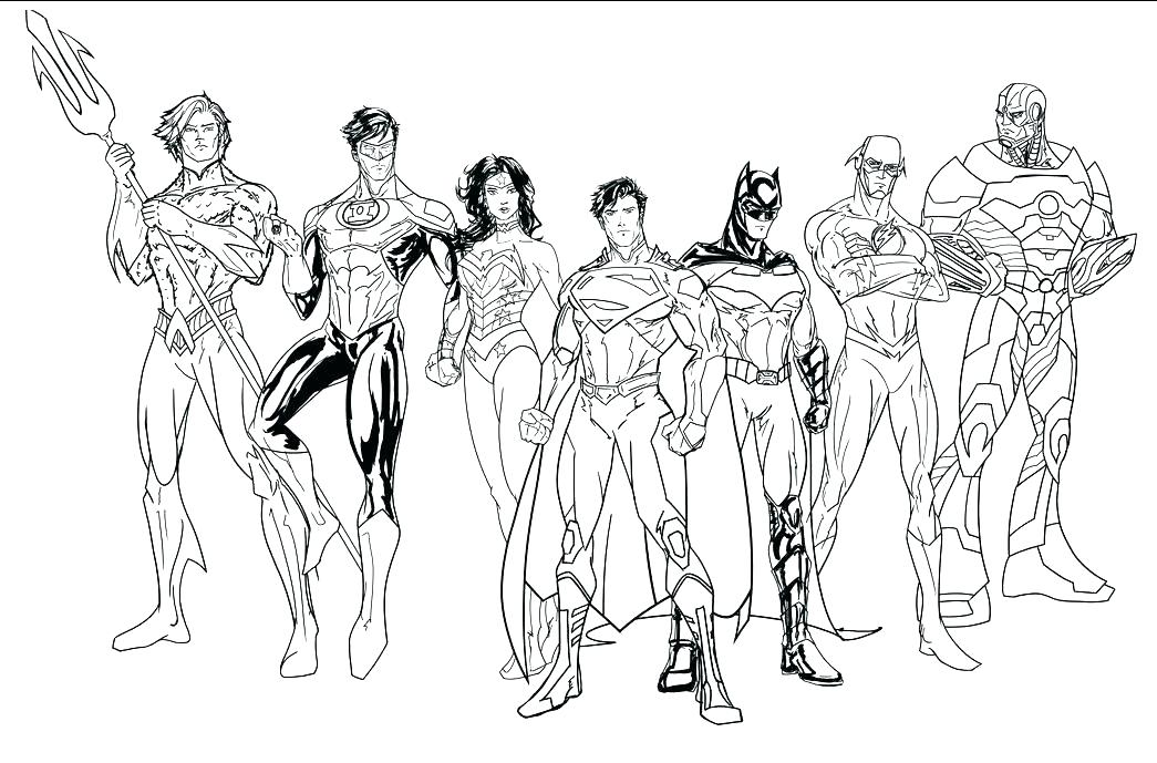 1045x689 Young Justice Coloring Pages Young Justice Coloring Pages Young