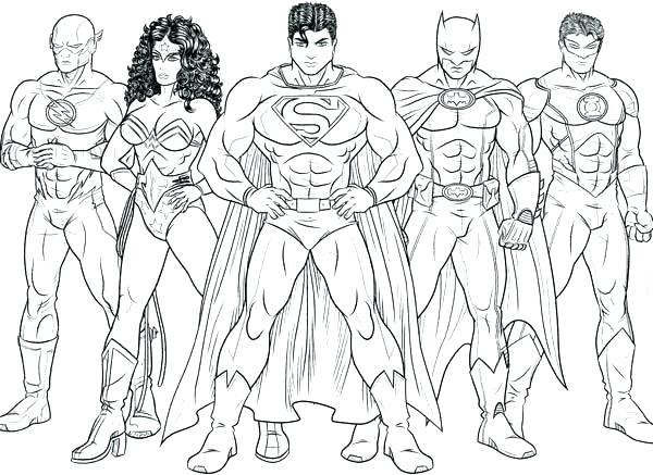 600x437 Dc Superhero Coloring Pages With Dc Superhero Coloring Pages Ac Dc