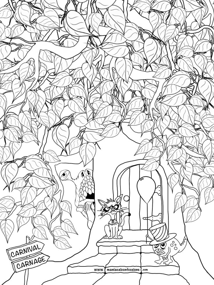 Social Media Coloring Pages