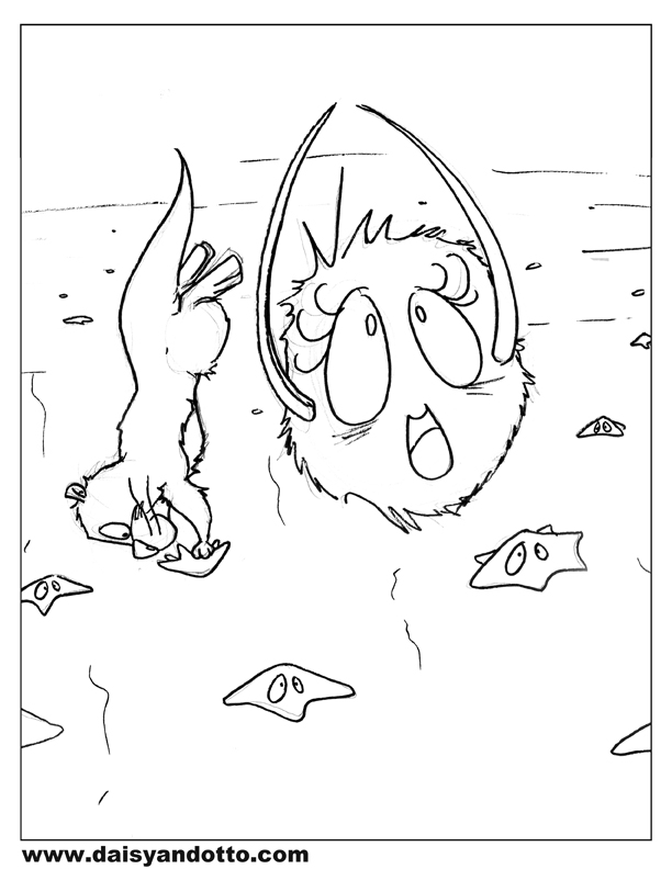 612x792 More Free Printable Daisy And Otto Coloring Pages Daisy And Otto