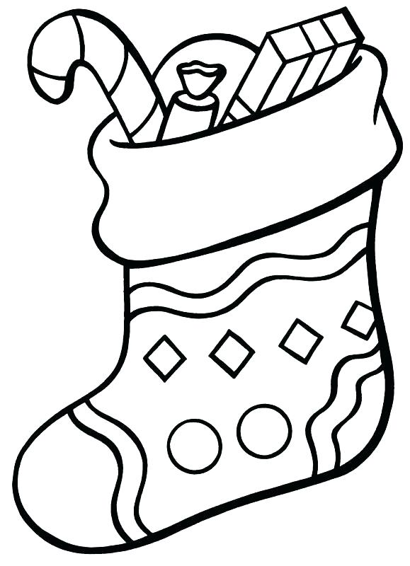 Sock Coloring Page At Getdrawings Com Free For Personal