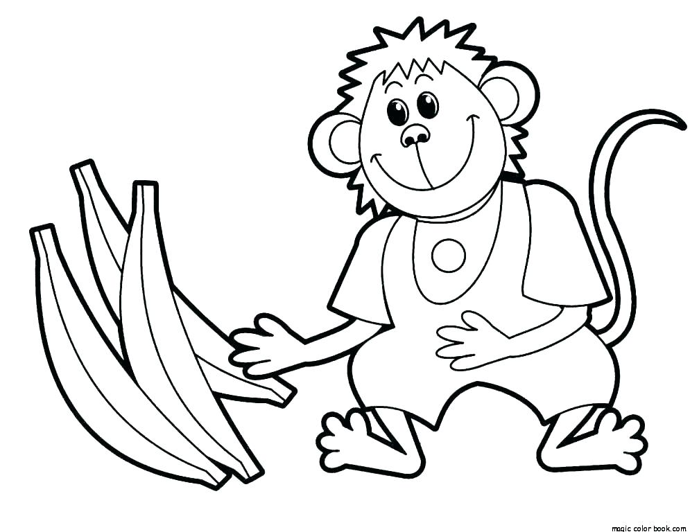 1008x768 Sock Monkey Coloring Pages Coloring Page Of A Monkey Monkey Sock