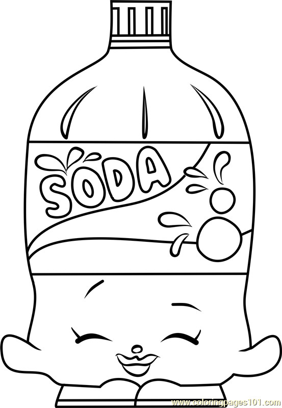 553x800 Shopkins Coloring Pages Soda Pop Page Free