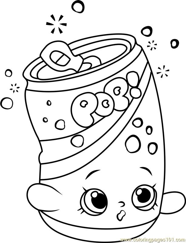 613x800 Soda Pops Shopkins Coloring Page