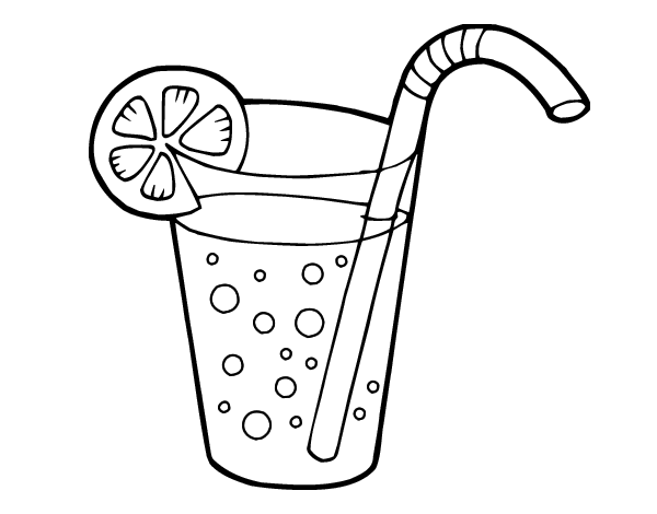600x470 Soda Bottle Coloring Pages