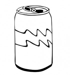 280x300 Soda Coloring Pages