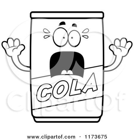 450x470 Soft Drink Coloring Pages