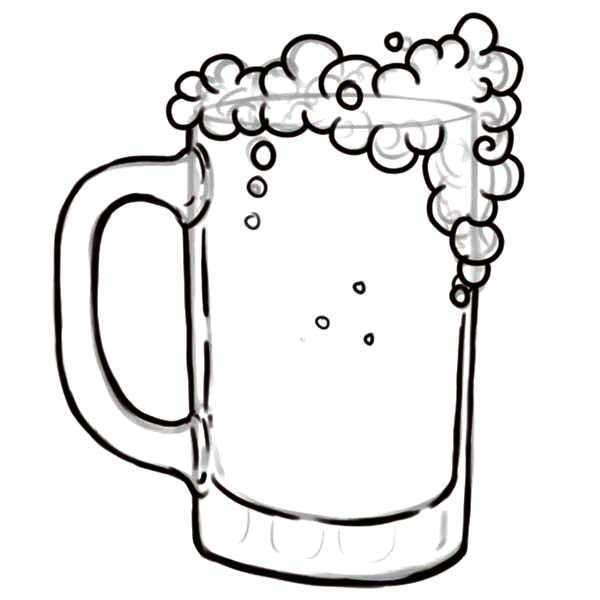 600x600 Beer Can Coloring Pages Coloring Pages