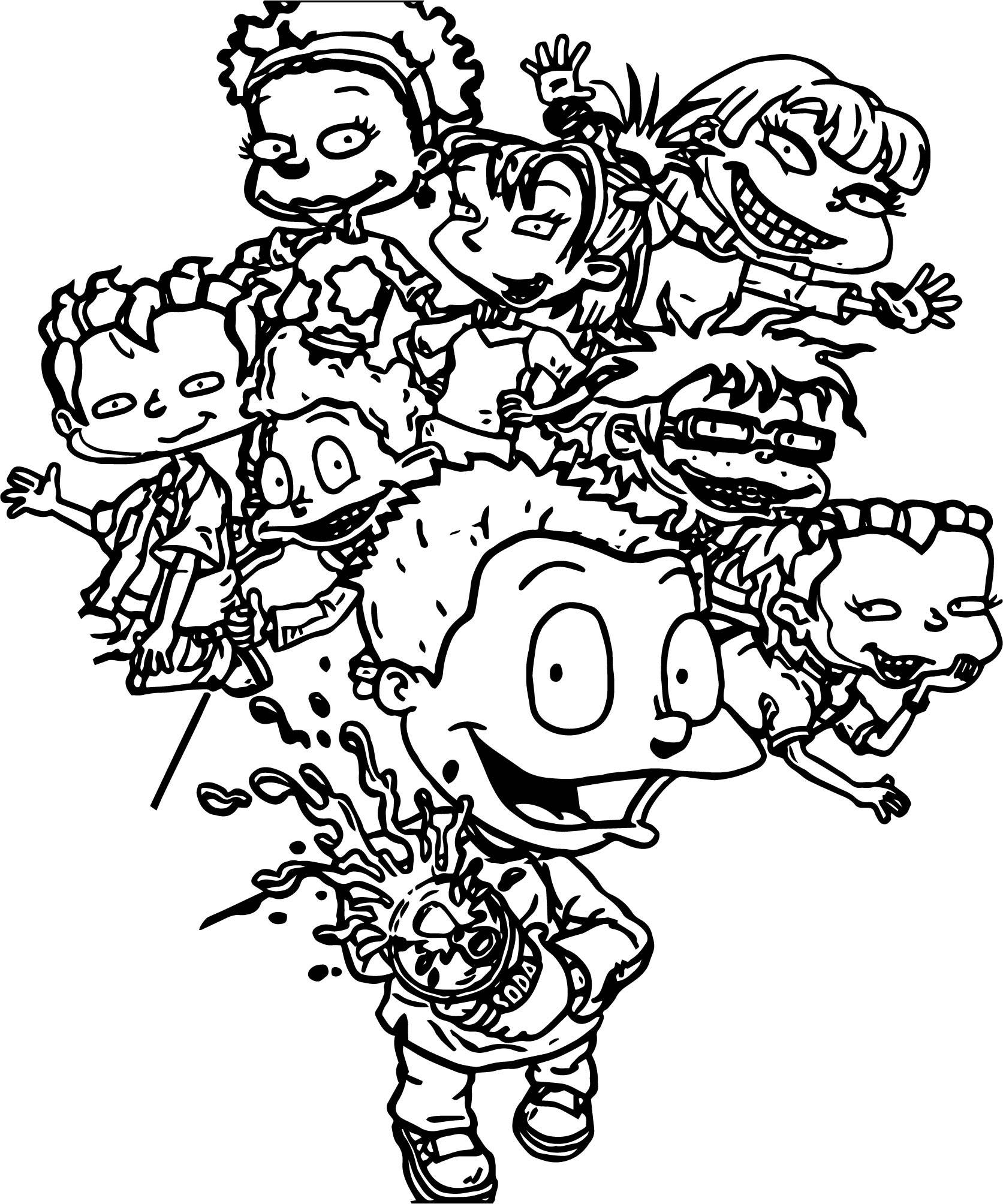 1673x2008 Astonishing Rugrats All Grown Up Soda Coloring Page Wecoloringpage