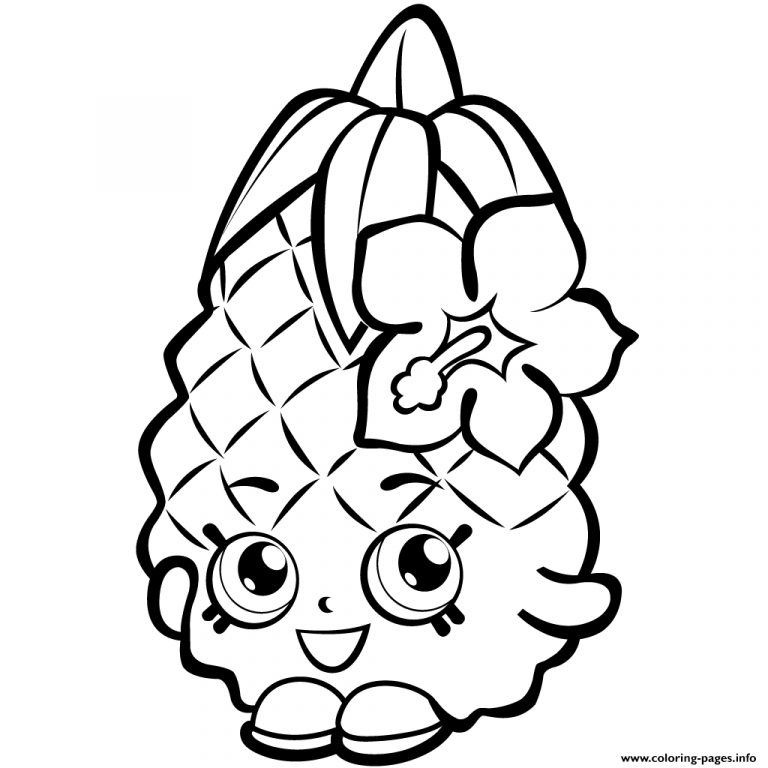 768x768 Shopkins Coloring Pages Soda Pop New Free