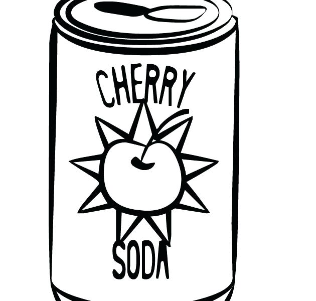 630x600 Watering Can Coloring Page Can Coloring Page Printable Cherry Soda