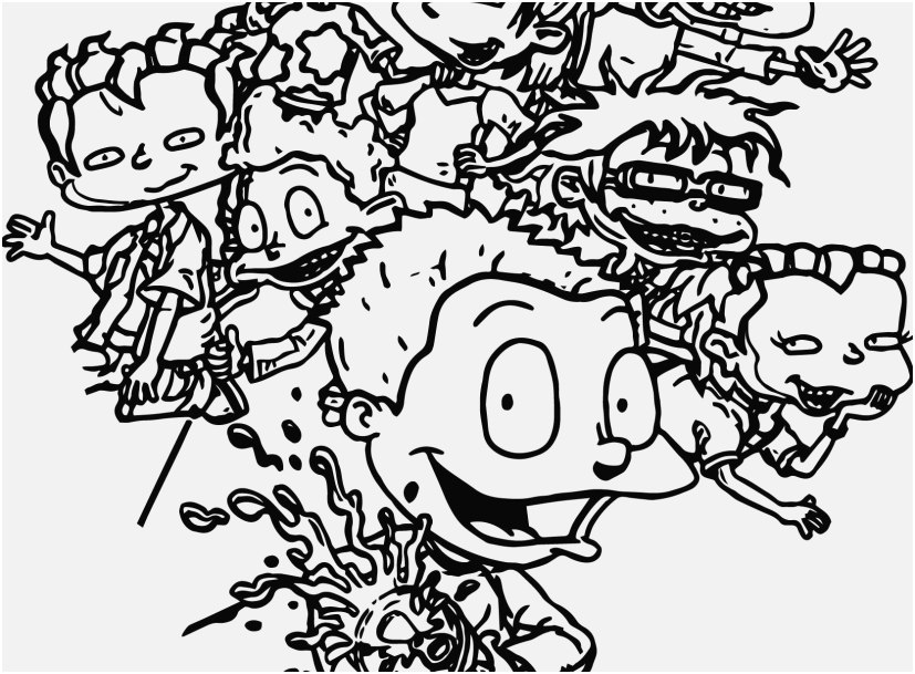 827x609 Coloring Pages Grown Up Pic Rugrats All Grown Up All Grown Up Soda