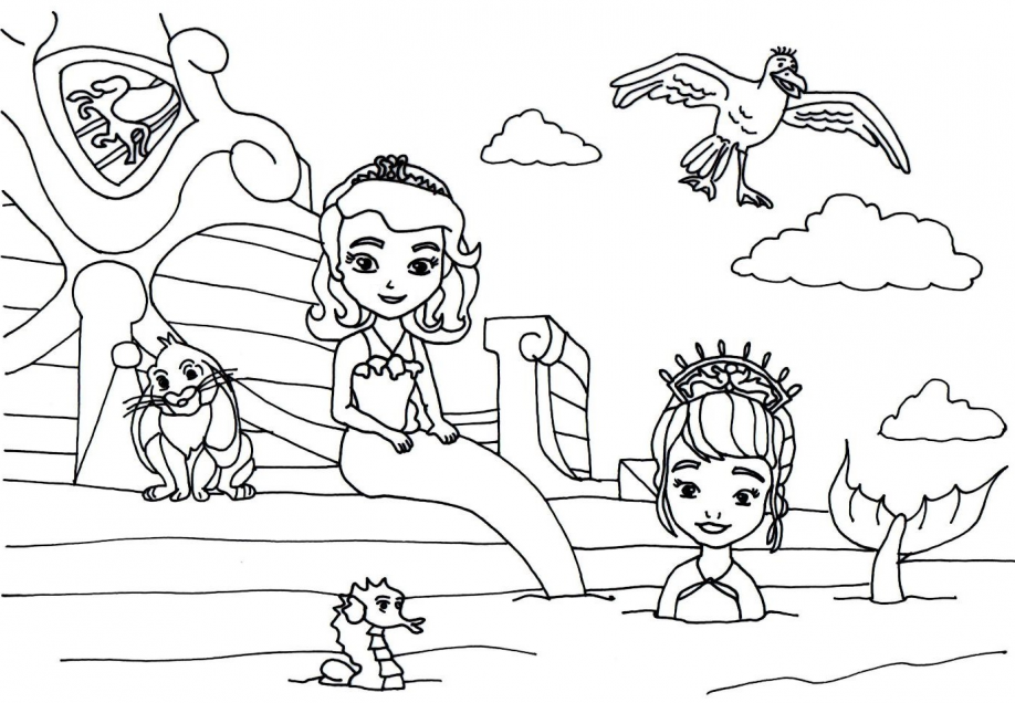 - Princess Sofia Coloring Pages - Coloring Pages Kids 2019