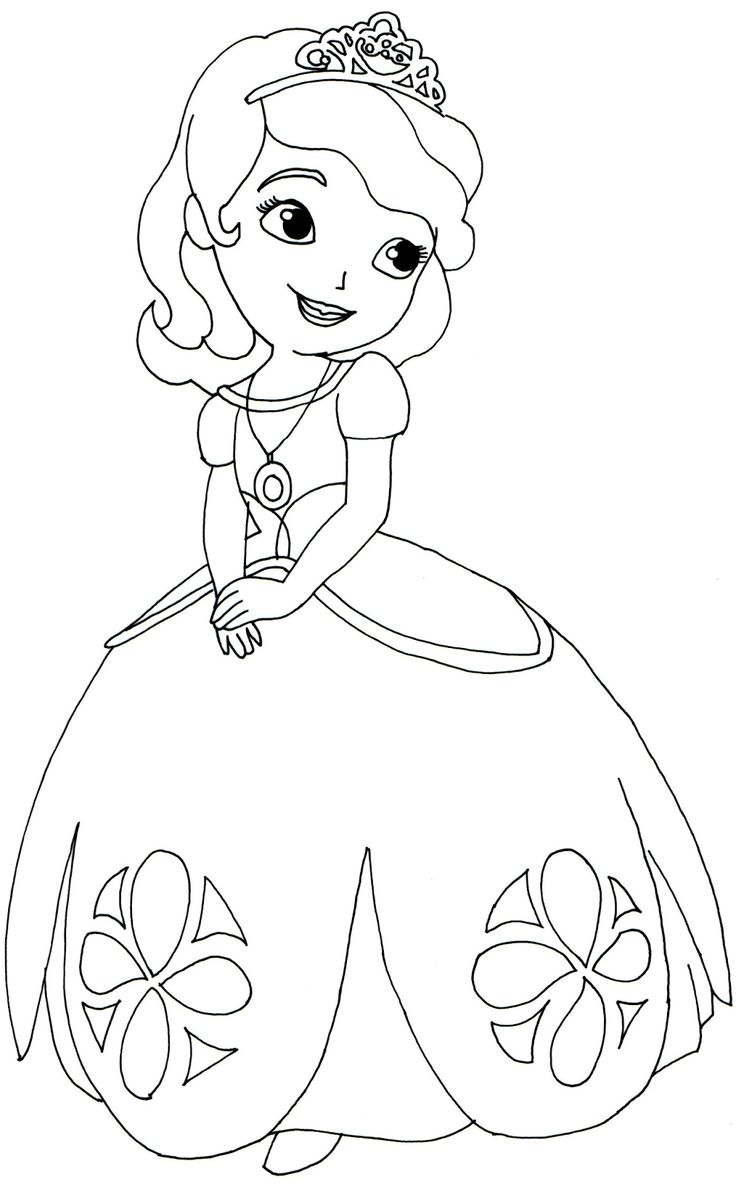 Sofia Coloring Pages Free
