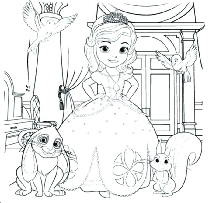 Sofia Coloring Pages Free at GetDrawings.com | Free for personal use ...
