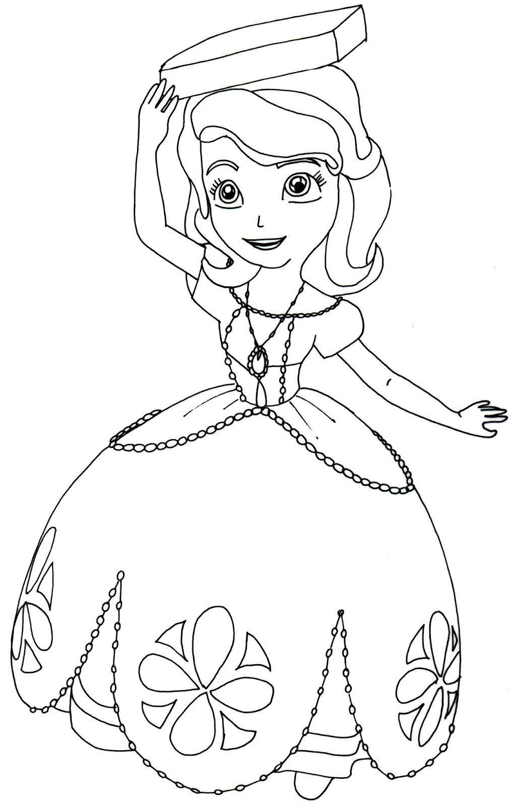 Sofia Coloring Pages Free at GetDrawings | Free download