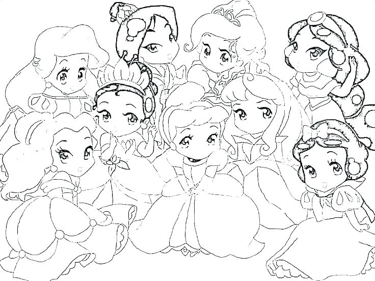 736x552 Princess Coloring Pages Games Princess Color Pages All Princess