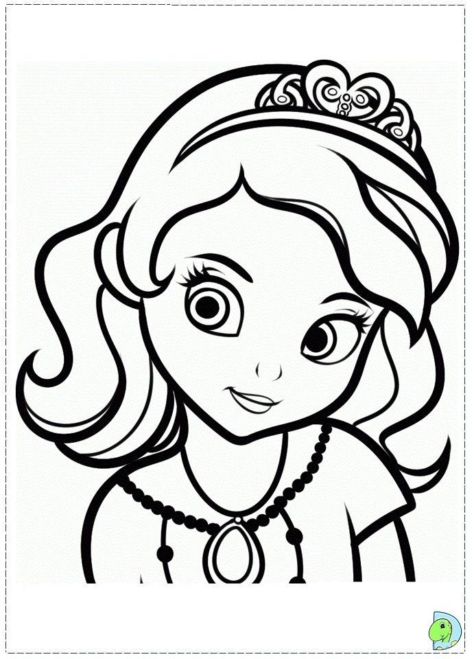 691x960 Princess Sofia Coloring Pages, Sofea The First Colouring Pages