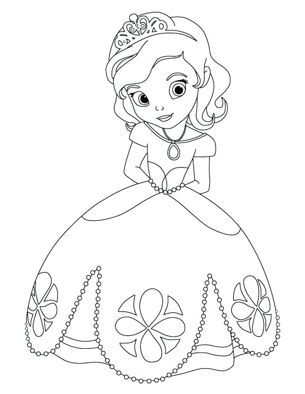 600x776 Sofia Mermaid Colouring Pages Princess Coloring Pages Images