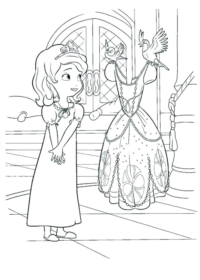 685x960 Sofia The First Coloring Pages Princess Coloring Coloring Pages