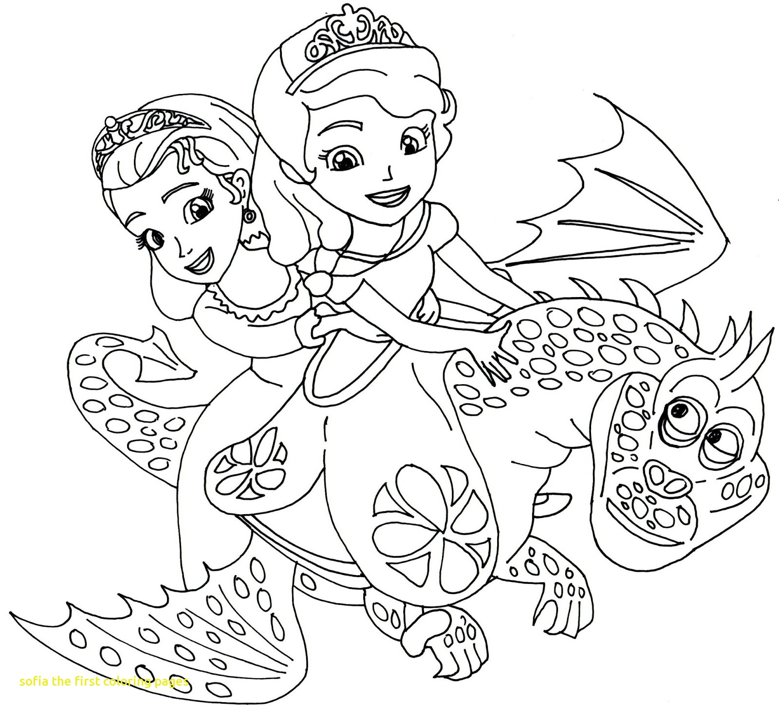 1600x1456 Sofia The First Coloring Pages With Sofia The First Disney