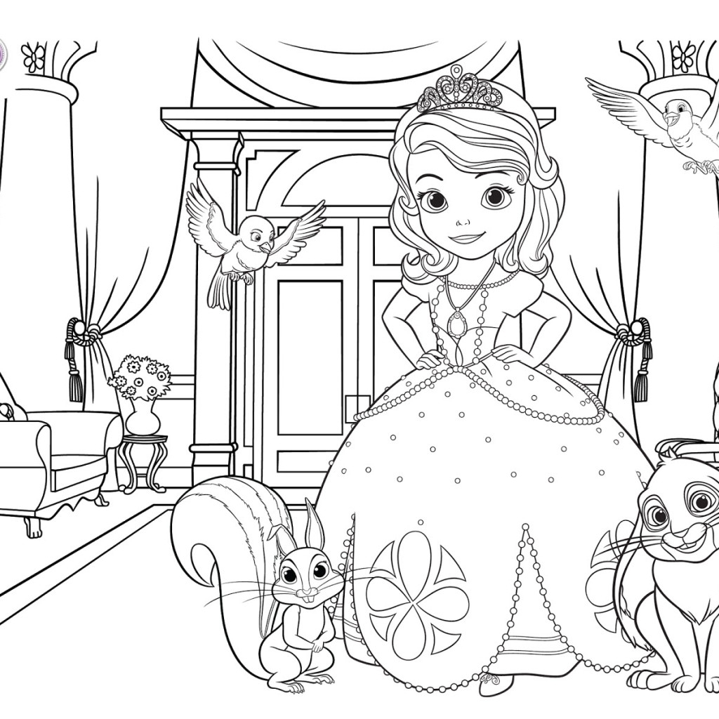 1024x1024 Best Of Princess Sofia Coloring Pages Design Printable Coloring